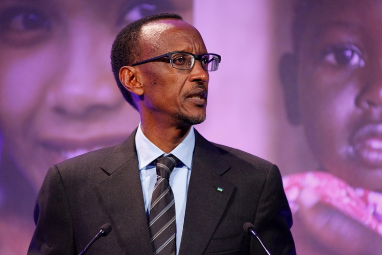 Picture: President Paul Kagame. Credit: Russell Watkins/Department for International Development. Licence: Open Government Licence