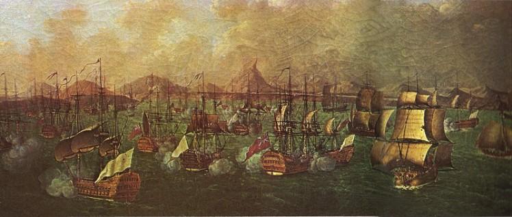 Combat de la Porto Praya, Circa 1781-90