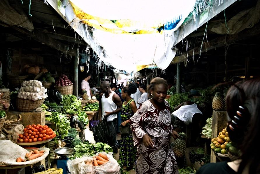 Lekki Market, Lagos.